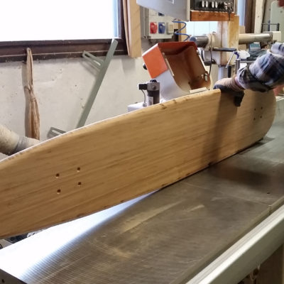 longboard landsurf skateboard Skate homemade bambù WhaleBOARDS woodworking
