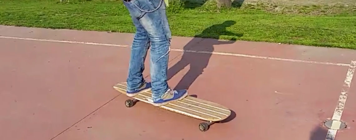 longboard landsurf skateboard Skate homemade bambù WhaleBOARDS whale boards Melville
